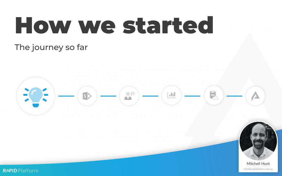 Rapid Platform – How we started