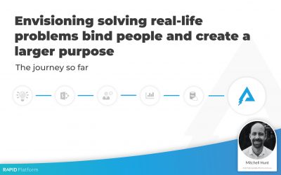 Learning: Envisioning solving real-life problems bind people and create a larger purpose